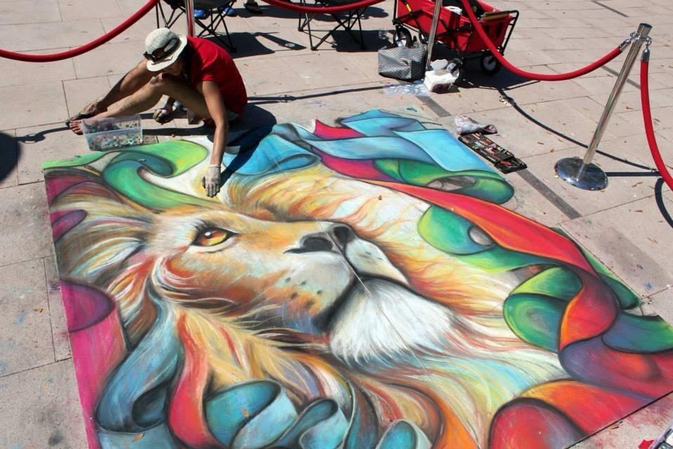 2014 Gasparilla Art Festival in Tampa, FL