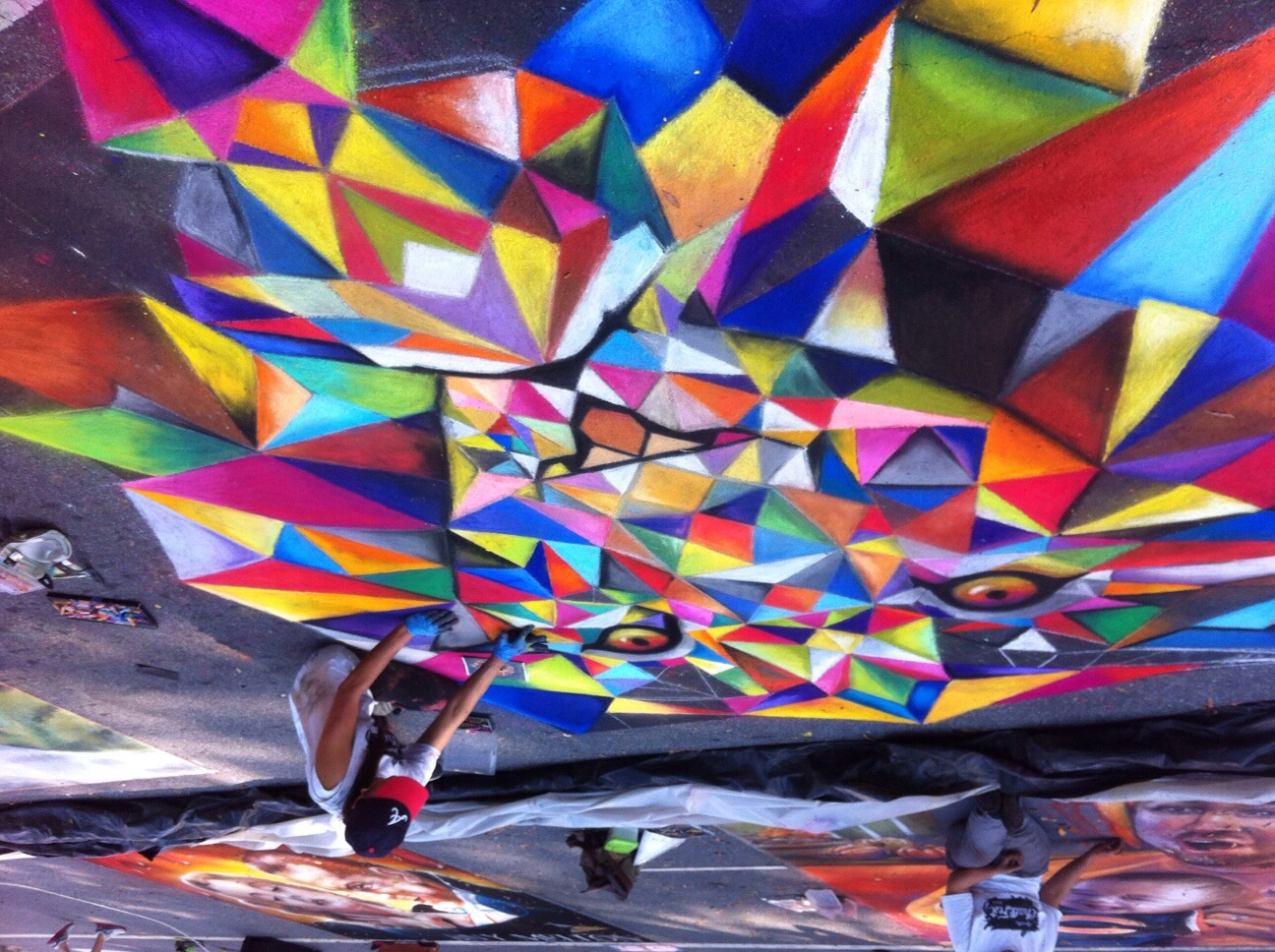 Chalk Fest 2014 with the Marietta Cobb Museum of Art