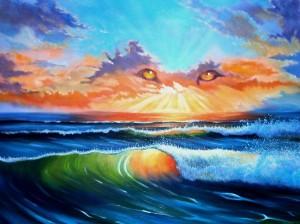 "36x48"" (sold) acrylic on canvas"