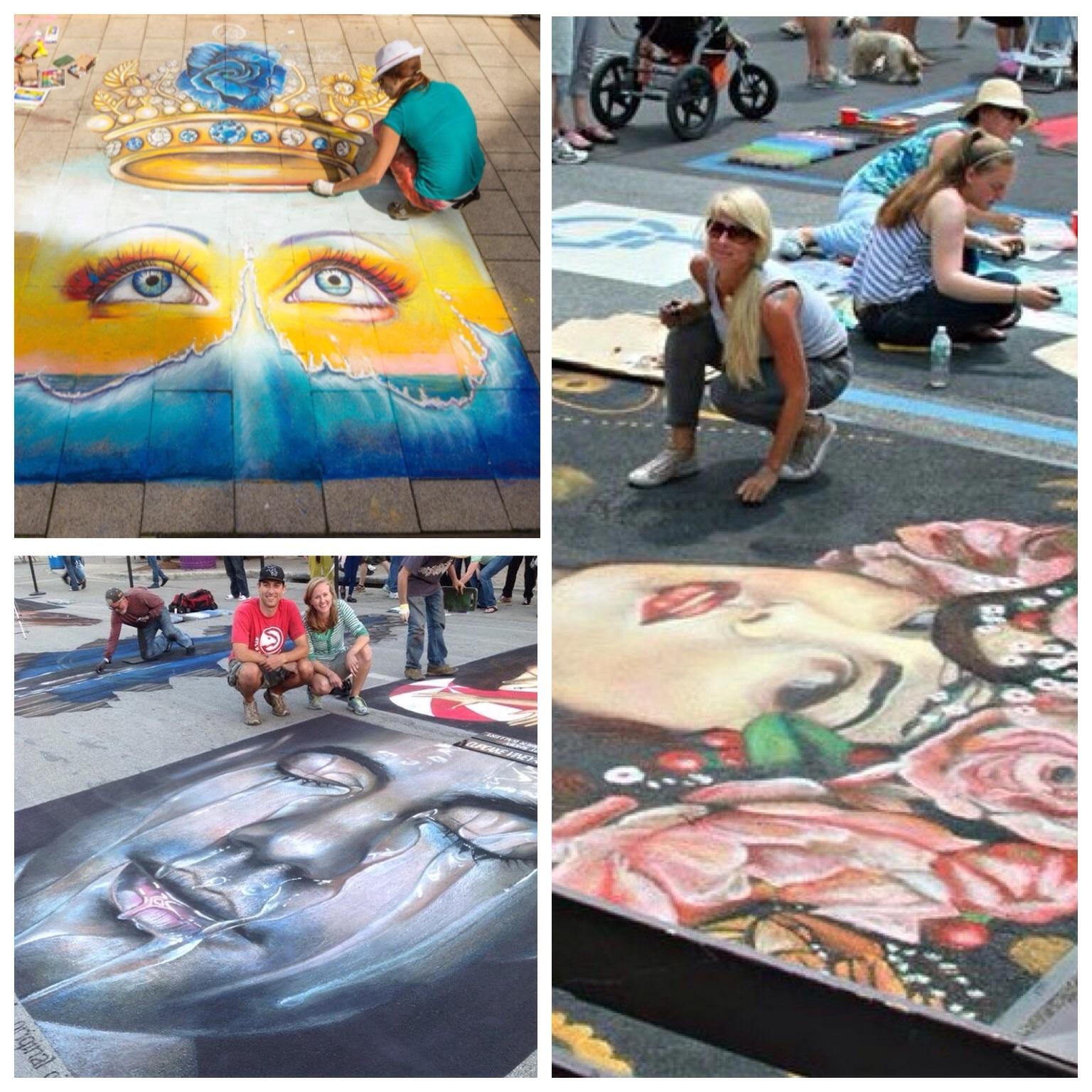 Duende street painters